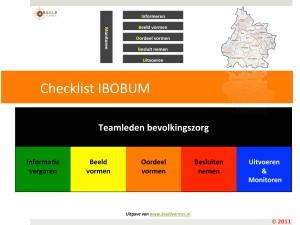 Opleiding in het hanteren van de IBOBUM structuur  Crisismanagement